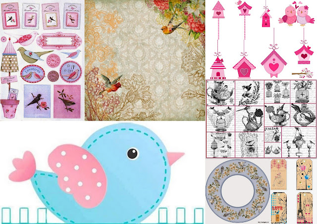 Nice Free Printables for your Birds Themed Quinceanera Party.