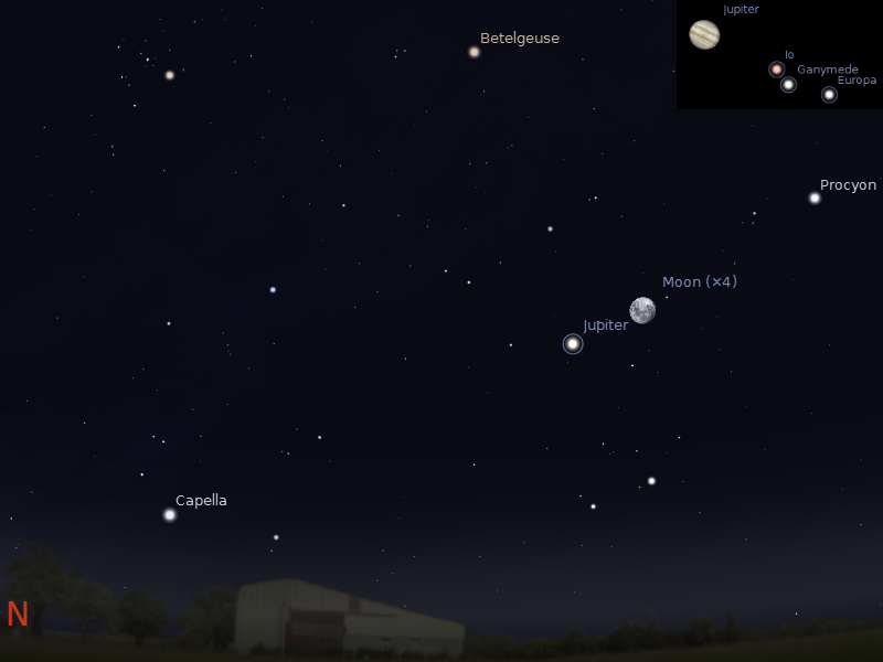 asteroid viewing path tonight - photo #5