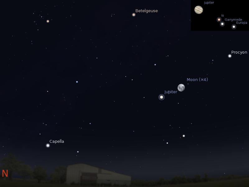 moon viewing jupiter tonight - photo #27