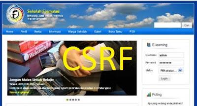 Exploit CMS Formulasi 2017 | CSRF Vulnerability