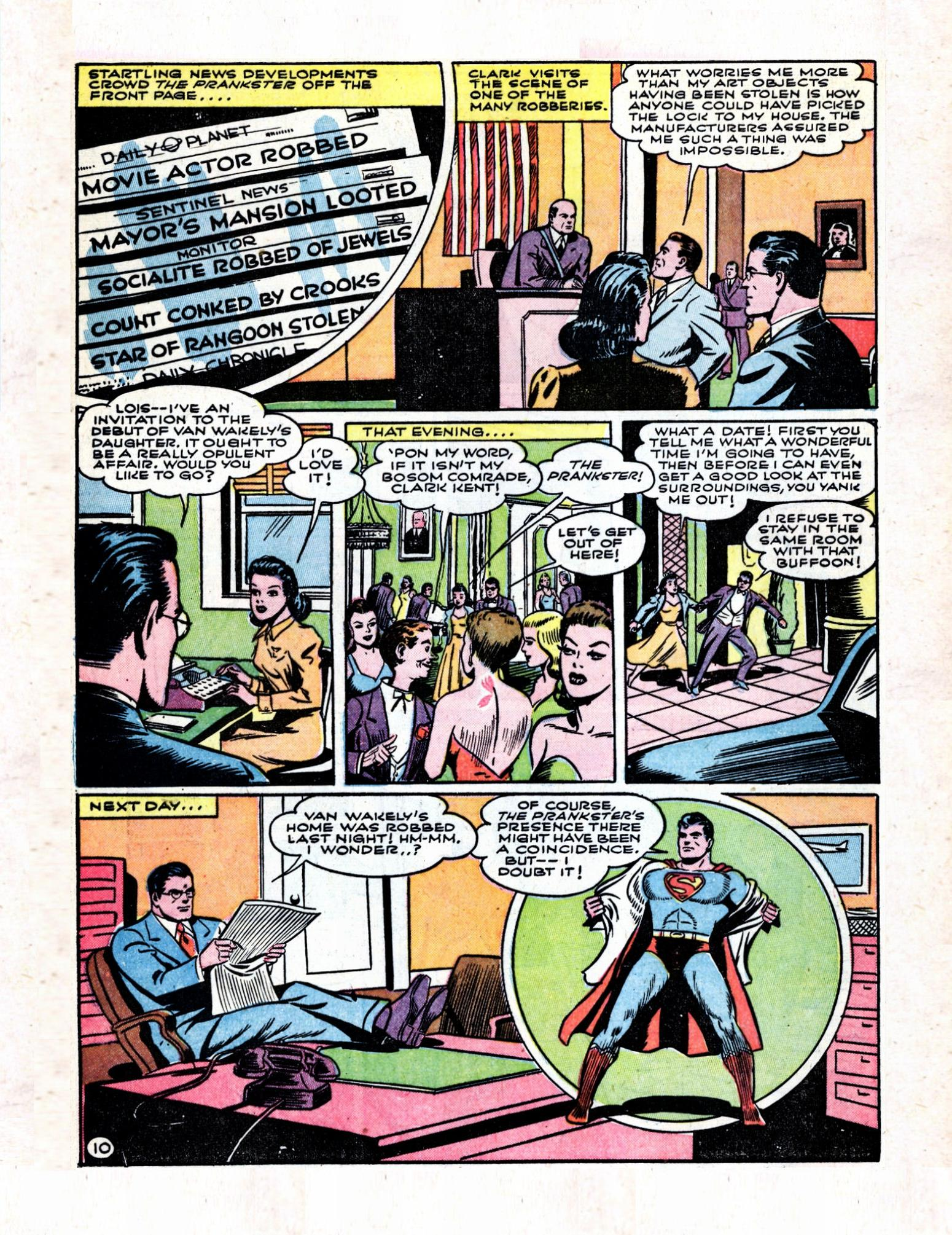 Read online Action Comics (1938) comic -  Issue #57 - 12