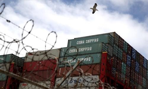 Hàng hóa Trung Quốc tại cảng ở California, Mỹ ngày 20/6