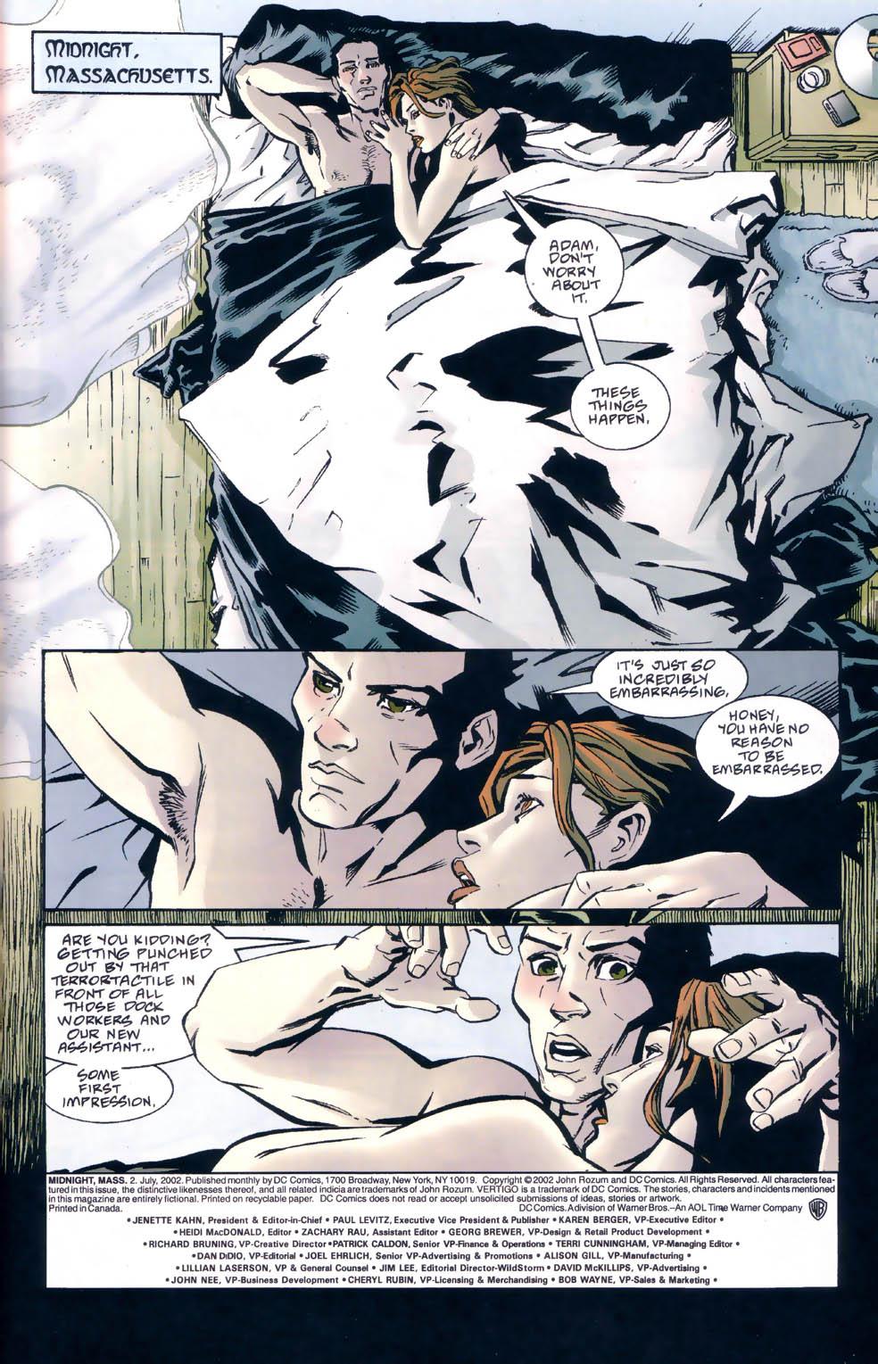 Read online Midnight, Mass comic -  Issue #2 - 2