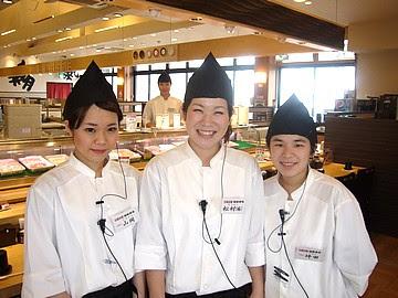 奈良の大起水産スタッフ写真