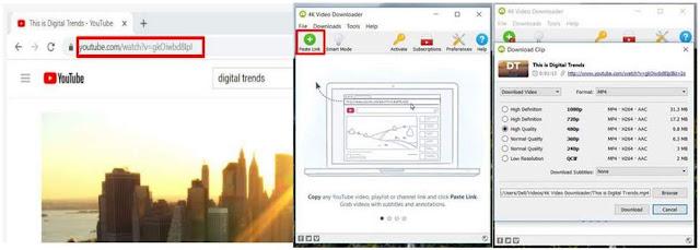 Cara Menyimpan Video Dari Youtube ke Galeri Handphone dan Laptop