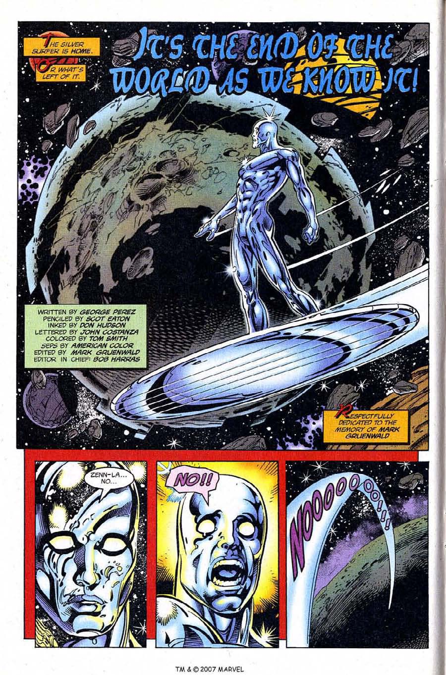 Silver Surfer (1987) Issue #122 #130 - English 10