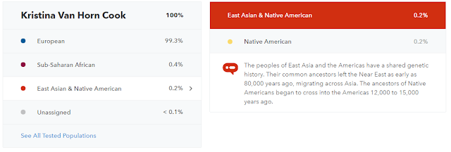 Native American Ancestry Results - My 23&Me Ancestry Results