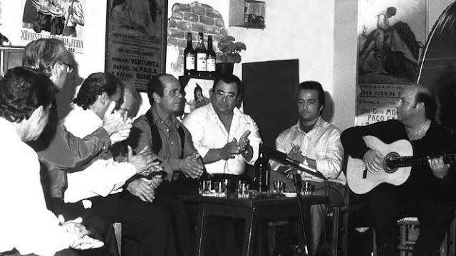 Flamenco en los Tabanco de Jerez Diego Rubichi, Paco El Gasolina, Gasolina Hijo, Domingo Rubichi...
