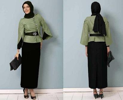 Model Baju Kantor Wanita Muslimah Untuk Bekerja