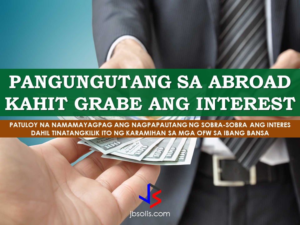 """No matter where OFWs go, the shadow of availing loans pursue them. Some of the are already indebted with a certain sum of money even before they can actually work abroad. As perceived by many non-OFWs, the OFWs do not really have a lot of money, what they have are lots of remittance receipts and debts (not all, actually). Is there any way that the OFWs can avoid dealing with """"loan sharks""""?   One way to recognize that you are already """"buried in debt"""" is to check if you could still pay sufficiently to your list of credits. Debt is something you cannot disregard or just neglect just because it can be paid in other time. Once you recognized that you are """"buried in debt"""", then you can start changing your lifestyle when it comes to spending. Remember, acceptance is the key.  Loan sharks are people who lend money for a very high interest. if you borrow money from a loan shark, be ready to pay interest up to 120%  COMMON MONEY MISTAKES WHY OFWs REMAIN BROKE Filipinos are around the globe. They work not for themselves but for their family. They leave the Philippines to give their family a good life and a brighter future. But, the question is, are they on the right track to become a successful Overseas Filipino Worker (OFW)? We cannot hide that most Pinoys have a soft heart and they want to give everything for their family.  But does following their heart on this matter means they are doing the right thing?  Loan sharking is prohibited in Hong Kong and is subject to legal prosecution if caught. A Hong Kong couple and eight Filipino domestic helpers including the couple's house help were arrested in connection with loan sharking, which allegedly victimized over  1,000 other Filipina domestic helpers.   The ringleader couple, aged 49 and 50 years, lent money to Filipino helpers from March to October last year. They employed the eight Filipina helpers, who would receive referral fees for every loan, to help them thrive in their loan scheme.  Each victim borrowed cash from 4,000 """