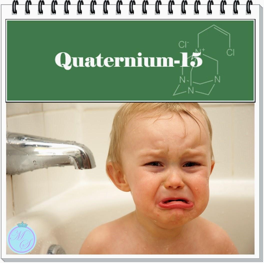 Diga não aos produtos com quaternium 15