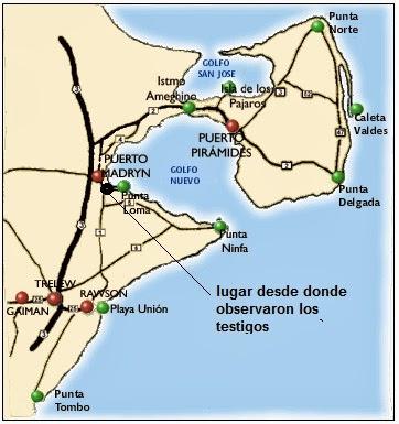InexplicataThe Journal Of Hispanic Ufology Argentina Unusual - Argentina map puerto madryn