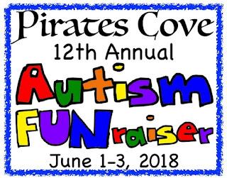 Pirates Cove, 12th Annual Autism FUNraiser in Elberta AL