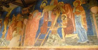 Cripta de la Catedral de Siena.