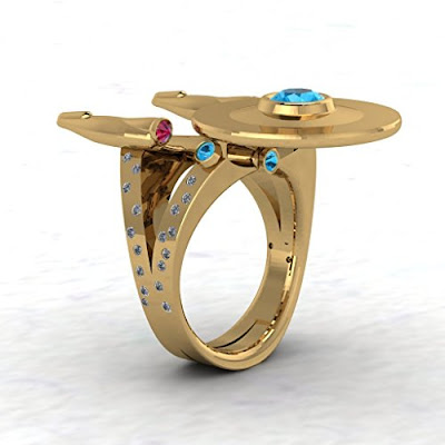 Star Trek Inspired Ring