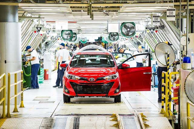 Toyota Yaris Brasil
