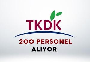 TKDK Personel Alımı 2017