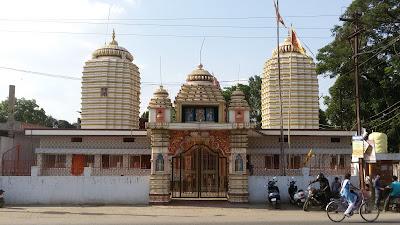 Shree Sankat Mochan Dakshin Mukhee Hanumaan Mandir Bisrampur