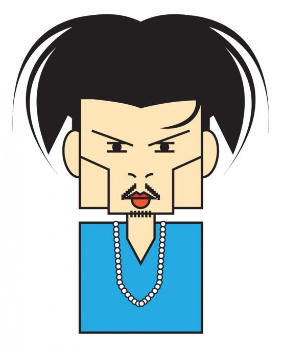 Johnny Depp por André Hippertt