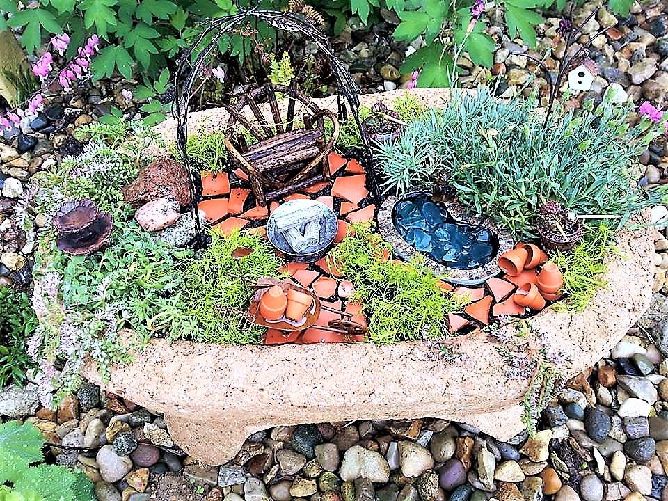 Get Your Whimsy On With a Fairy Garden – BoHo Home