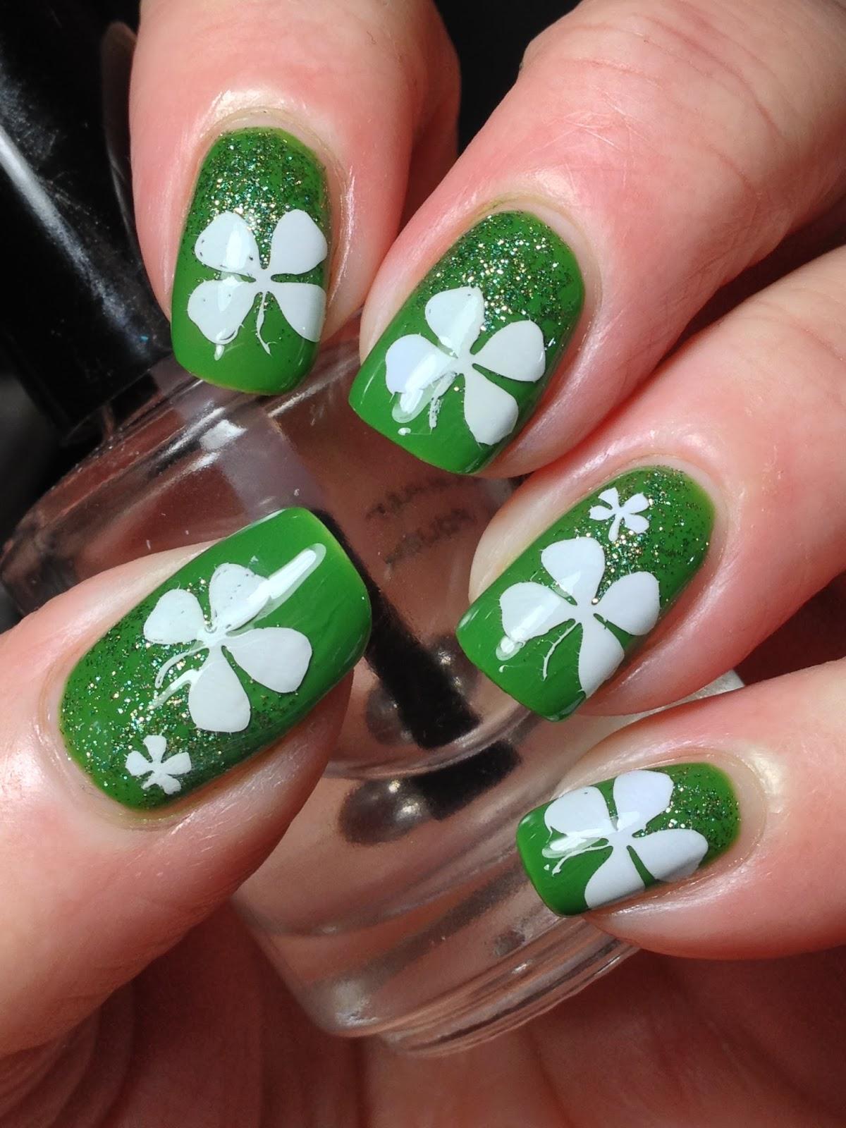 Canadian Nail Fanatic: St. Patrick\'s Day Nails!