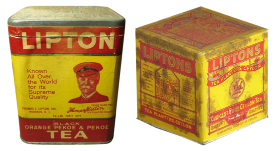 Early Lipton Tea productions