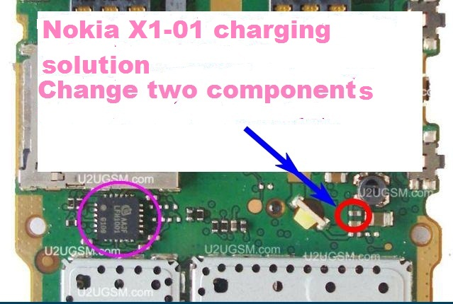 How to fix Nokia X1-01 charging problem