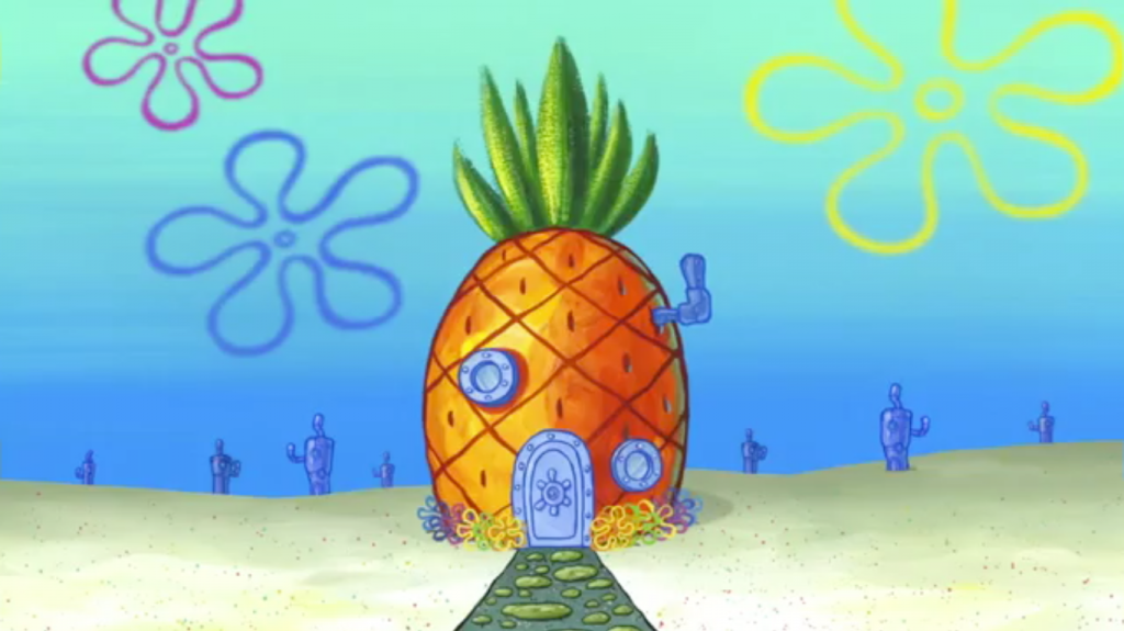 Paling Keren 41 Gambar Rumah Spongebob Hd