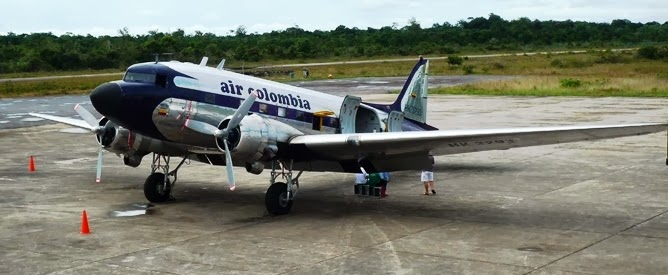 Flying the jungle in an old Dakota DC-3 | Travels with Mitzi