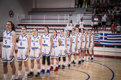 EOK | Εθνική Κορασίδων: Ελλάδα-Σουηδία 41-51. Δύο Ελληνίδες στην καλύτερη πεντάδα, η Χατζηλεοντή MVP