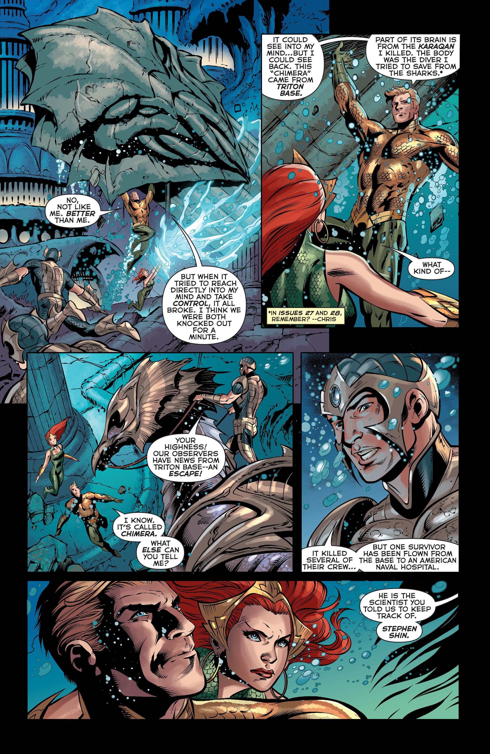 Read online Aquaman (2011) comic -  Issue #33 - 13