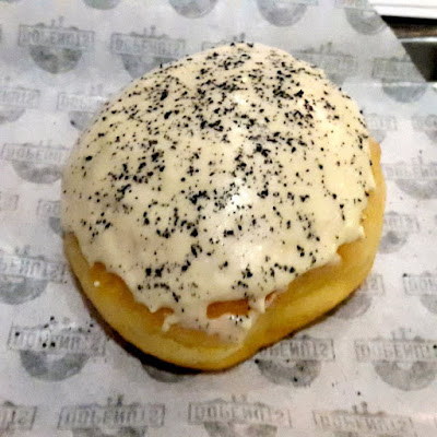 Cream filled doughnut from Fctry Bistro and Bar Lippo Mall Puri