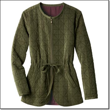 Shop Quilted Field Coat >>>
