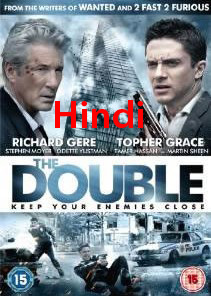 The Double (2011) Hindi Dubbed BRRip 350MB