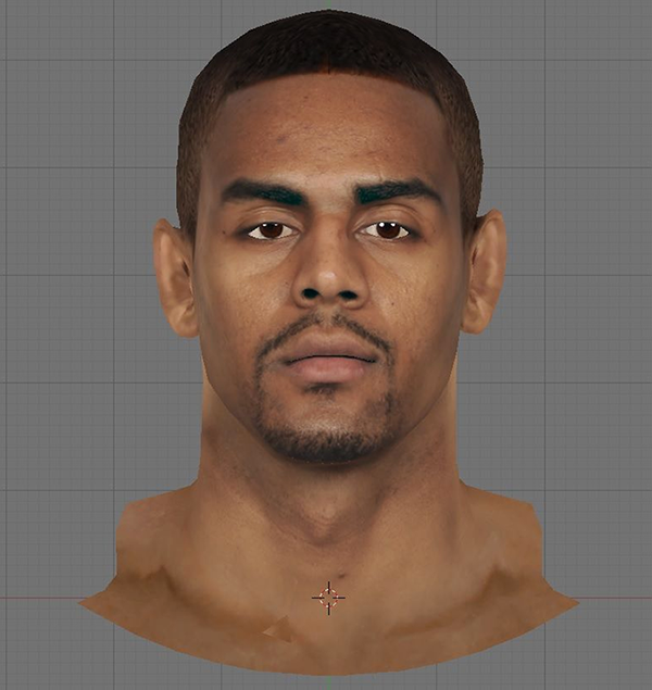 NBA 2K14 Arron Afflalo Real Face Mod