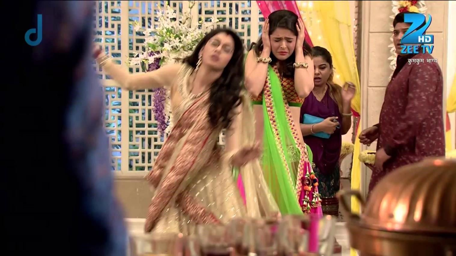 pragya pingsan dengar bulbul meninggal kumkum bhagya today episode dailymotion