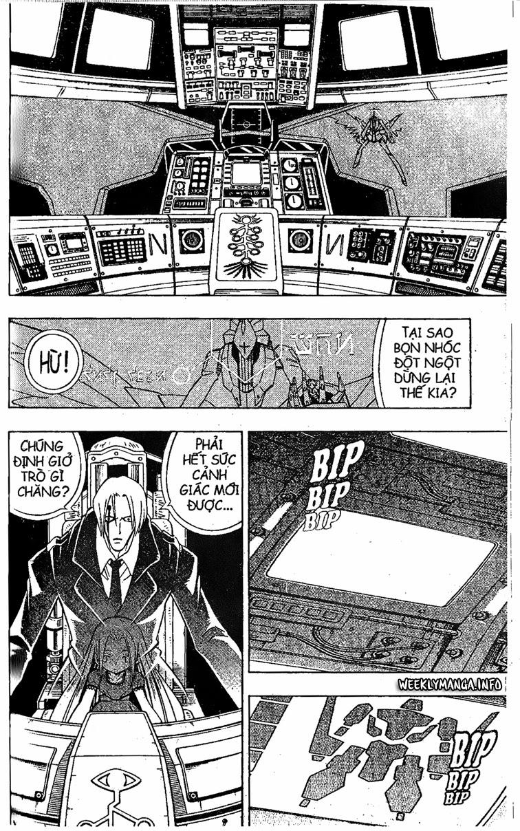 Shaman King [Vua pháp thuật] chap 201 trang 9