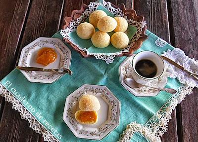 Pan de queso brasileño/ Pao de queijo brasileiro