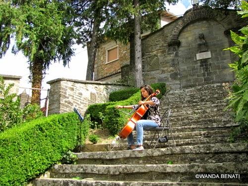 Corso di formazione musicale al castello Manservisi