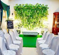 dekor pengantin syari lampung