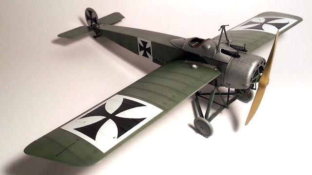 1/32 scale Wingnut Wings Fokker E.IV completed model