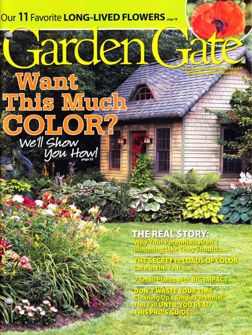 Garden Walk Buffalo Through The Garden Gates 6: Another Buffalo Niagara Garden In The Magazines