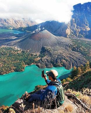 gunung rinjani - foto @lalu_fani