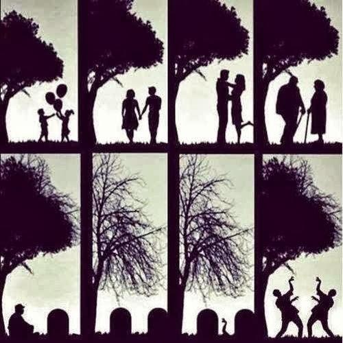 Funny Zombie Love Romance Joke Image