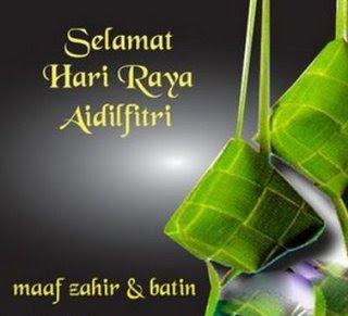 Liputan Informasi Kata Kata Ucapan Selamat Hari Raya Idul Fitri