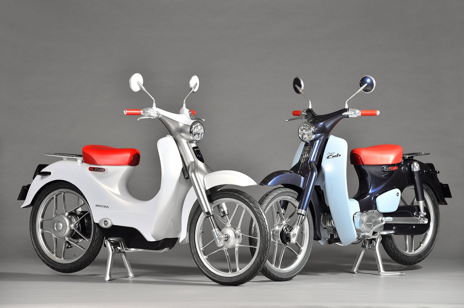 Planet Japan Blog: Honda Super Cub Concept & EV-Cub Concept @ Tokyo Motorcycle Show 2015