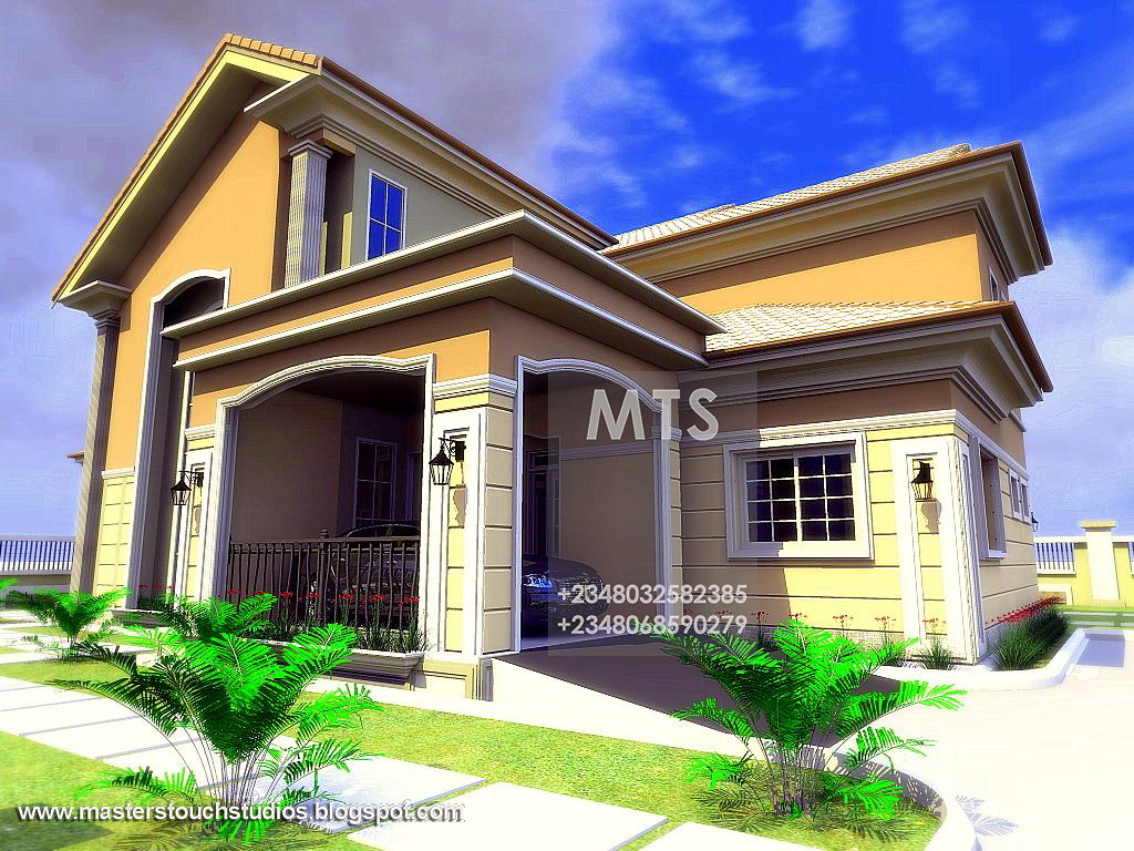 3 Bedroom Bungalow With Pent House Suite Residential