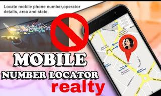 Mobile number location, locator