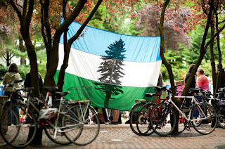 Bandera de Cascadia - Doug Flag