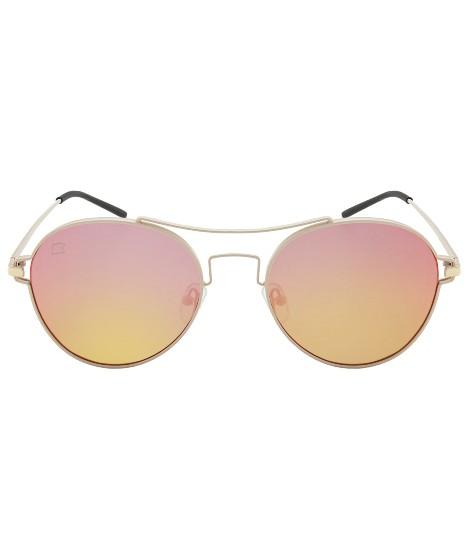óculos loopaz espelhado - dourado